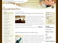 Thediscipleshipplace.org