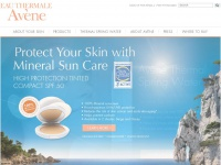 Avene USA - Skin Care -  Home page