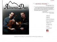 Welcome to the official website of the Alturas Duo!