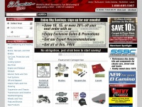 El Camino Parts For Sale - Chevy El Camino Restoration Parts  - El Camino Parts