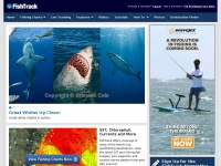 Deep Sea Fishing Features and Charts | FISHTRACK.COM