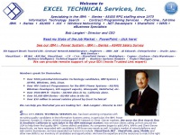 Excel Technical Home Page