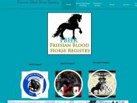 friesianbloodhorseregistry.com