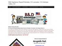B&D Appliance Repair|Palmdale, CA Lancaster, CA Antelope Valley, CA  - Home