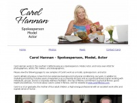 Carolsgigs.com - Carol Hannan - Spokesperson, Model, Actor