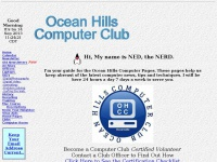 Ocean Hills Computer Club Home Page