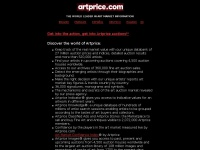 Art market, auction sales and artist's prices and indices - Artprice, the world leader of  art market information.
