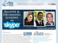 collegeofpiping.com