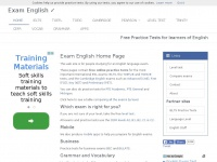 Examenglish.com - Exam English - Free Practice Tests for IELTS, TOEFL, TOEIC and the Cambridge English exams