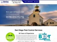 San Diego Pest Control | Chula Vista, La Mesa, El Cajon | Harbor