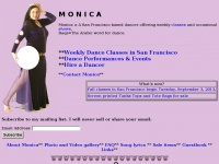 Monica~~San Francisco Belly Dance~~Performance, Instruction, Supplies