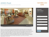 Luxury Apartments in San Francisco | 2000 Post Apartments in San Francisco