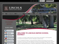 Home - Lincoln Unified School District