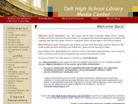 Taft Charter High School Library Media Research Center