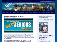 Weil Tennis Academy California, Junior Tennis Camps & Tennis Academies