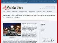 who else wants Boulder limo - Boulder limousine | Denver to Boulder limo | Boulder Limo Transportation
