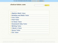 choice-tutor.com