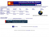 International World Wide Webport - The Internet's premier Point of Departure.