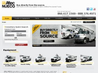 Nueco.com - Altec NUECO | Buy Used Bucket Trucks for Sale | Bucket Truck Rental Sales | Used Digger Derricks | Boom Trucks