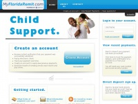 Myfloridaremit.com - Child Support - Home