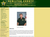 Hamilton County Sheriff's Office, Hamilton County Florida