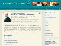 Santa Rosa Clerk of Court Home Page