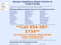 barzeysappliancerepair.com
