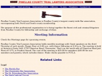 Pinellas County Trial Lawyers Association - Home