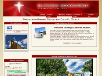 Welcome to Blessed Sacrament Catholic Church in Tampa, Forida