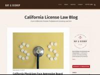 californialicenselawblog.com