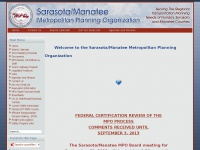 Welcome to the Sarasota/Manatee Metropolitan Planning Organization