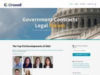 governmentcontractslegalforum.com