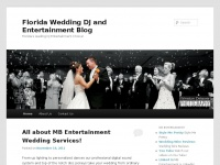 Florida Wedding DJ and Entertainment Blog | Florida's leading DJ Entertainment Choice!
