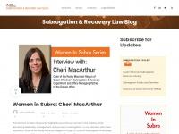 subrogationrecoverylawblog.com