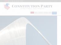 constitutionparty.com