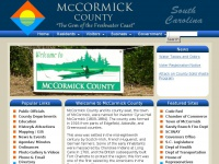 McCormick County, SC | County Offices | Administration