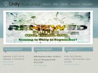 Unitycog.com - Unity Church of God, Jesup GA