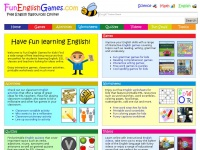 Funenglishgames.com - Fun English Games for Kids - Free Teaching Resources Online