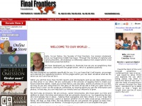 Final Frontiers Foundation, Inc.  Sponsorship of National Preachers, Bible translation and distribution,...