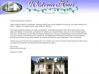 wisteriahallbandb.com