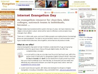 Internet Evangelism Day resource guide for online evangelism & ministry