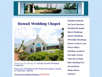 hawaiiweddingchapel.com