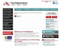 First National Bank | Rochelle, Oregon, Ashton, Illinois | Internet Banking, Business Banking, Loan and Investment Services