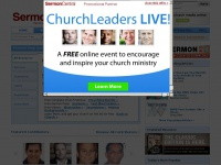 Sermoncentral.com - SermonCentral - free sermon preparation, sermon illustrations, church videos, PowerPoints, church media resources, preaching articles for sermon preparation ideas.