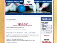 Gsbabowl.com - Greater Springfield Bowling Association