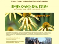 Brown County Indiana Real Estate Information