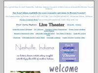 Nashville Indiana information, romantic, getaway, lodging, accommodations, entertainment, shopping, historic artists colony, Brown County Indiana