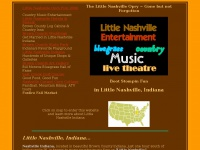 Littlenashvilleopry.com - Little Nashville Indiana Opry Country Bluegrass Music Theatre Entertainment in Brown County Indiana