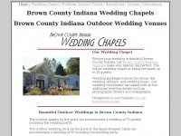 Wedding Chapels and Outdoor Venues in Brown County Indiana