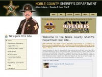 noblecountysheriff.org Thumbnail